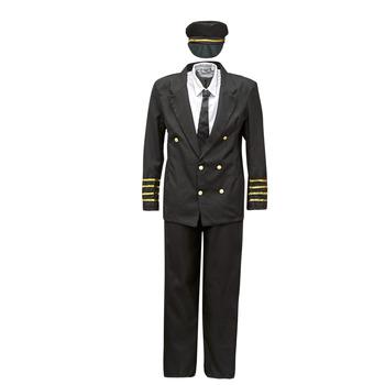 Vêtements Homme Déguisements Fun Costumes COSTUME ADULTE PILOTE Multicolore