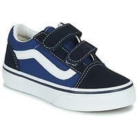 Chaussures Enfant Baskets basses Vans OLD SKOOL Bleu