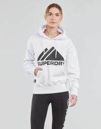 Vêtements Femme Sweats Superdry MOUNTAIN SPORT MONO HOOD Blanc