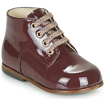 Chaussures Fille Baskets montantes Little Mary MILOTO Bordeaux