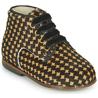 Chaussures Fille Baskets montantes Little Mary MAXYNE Noir