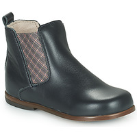 Chaussures Fille Boots Little Mary ARON Bleu