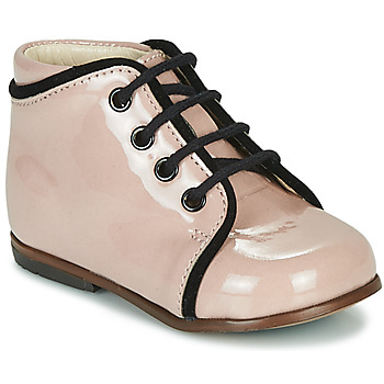 Chaussures Fille Baskets montantes Little Mary MEGGIE Rose