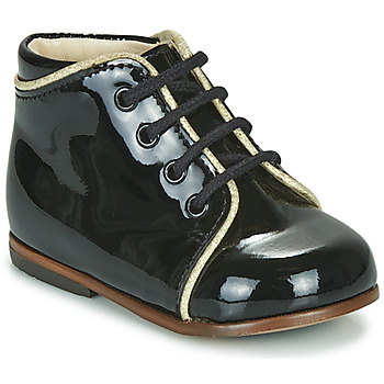 Chaussures Fille Baskets montantes Little Mary MEGGIE Noir