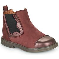 Chaussures Fille Boots Little Mary ELVIRE Bordeaux