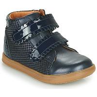 Chaussures Fille Baskets montantes Little Mary CRISTIE Bleu