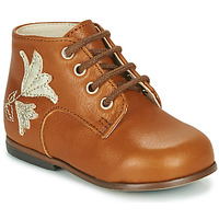 Chaussures Fille Baskets montantes Little Mary MEIGE Marron
