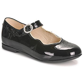 Chaussures Fille Ballerines / babies Little Mary AUBERIE Noir