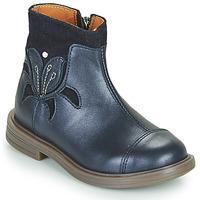 Chaussures Fille Boots Little Mary ELIANE Bleu