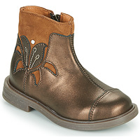 Chaussures Fille Boots Little Mary ELIANE Doré