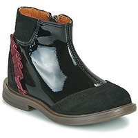 Chaussures Fille Boots Little Mary ELSIE Noir