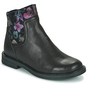 Chaussures Fille Boots Little Mary ELIETTE Noir