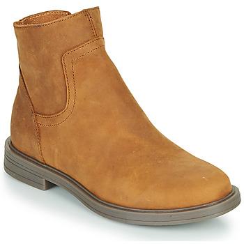Chaussures Fille Boots Little Mary ELIETTE Marron