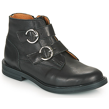 Chaussures Fille Boots Little Mary EMILIENNE Noir