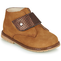 Chaussures Fille Baskets montantes Little Mary JANYCE Marron