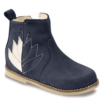 Chaussures Fille Boots Little Mary KARRY Bleu