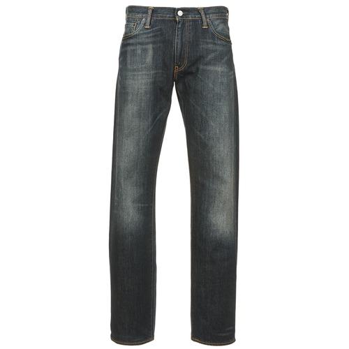 Vêtements Homme Jeans droit Levi's 504 REGULAR STRAIGHT FIT Bleu foncé