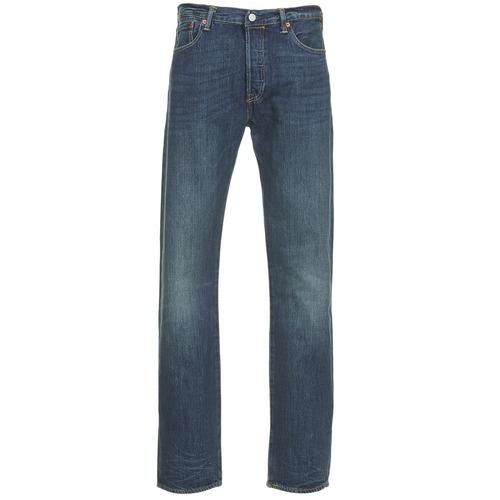 Vêtements Homme Jeans droit Levi's 501 LEVIS ORIGINAL FIT Bleu foncé