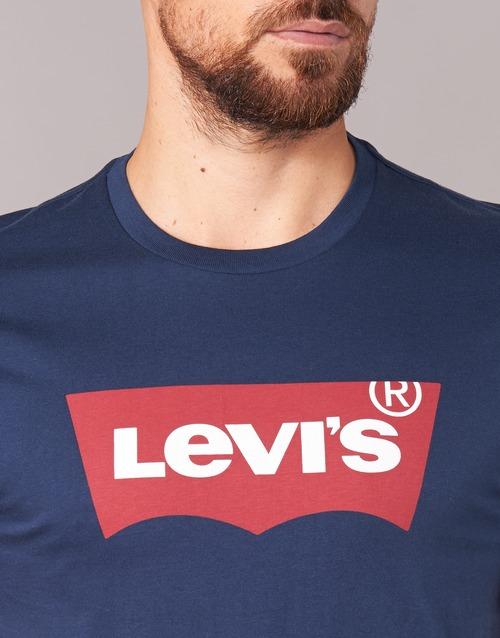 Levi's GRAPHIC SET-IN Marine