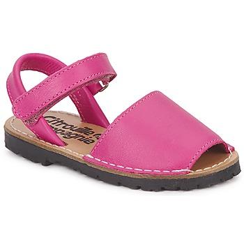 Chaussures Fille Sandales et Nu-pieds Citrouille et Compagnie SQUOUBEL Fuchsia