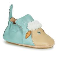 Chaussures Enfant Chaussons Easy Peasy BLUBLU MOUTON Bleu