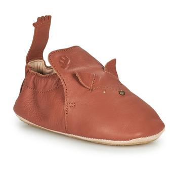 Chaussures Enfant Chaussons Easy Peasy BLUBLU RENARD Marron