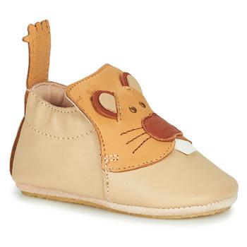 Chaussures Enfant Chaussons Easy Peasy BLUBLU CASTOR Beige