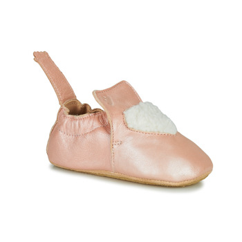 Chaussures Fille Chaussons Easy Peasy BLUBLU COEUR Rose