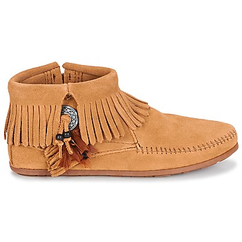 Boots Minnetonka CONCHO FEATHER SIDE ZIP BOOT