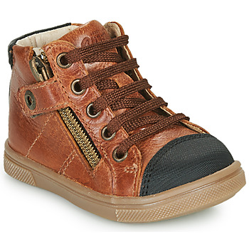 Chaussures Garçon Baskets montantes GBB KAMIL Marron