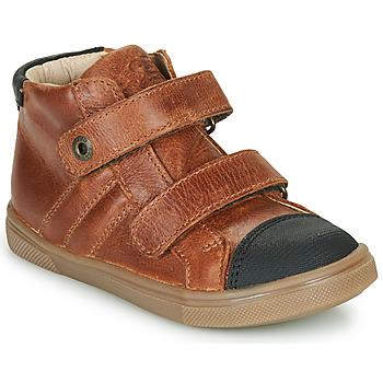 Chaussures Garçon Baskets montantes GBB KERWAN Marron
