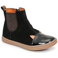 Chaussures Fille Boots GBB JESSINE Noir