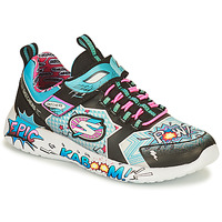 Chaussures Fille Baskets basses Skechers DYNAMIGHT/HERO STATUS Multicolore