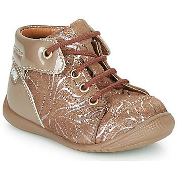 Chaussures Fille Baskets montantes GBB OLSA Beige