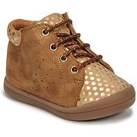 Chaussures Fille Baskets montantes GBB NAHIA Marron