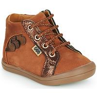Chaussures Fille Baskets montantes GBB PRUNE Marron