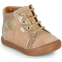 Chaussures Fille Baskets montantes GBB PRUNE Beige