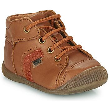 Chaussures Garçon Baskets montantes GBB GARY Marron