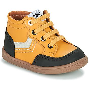 Chaussures Garçon Baskets montantes GBB VIGO Jaune
