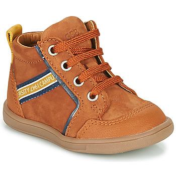 Chaussures Garçon Baskets montantes GBB GERMAIN Marron