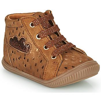 Chaussures Fille Baskets montantes GBB MASHA Marron