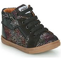 Chaussures Fille Baskets montantes GBB VALA Noir
