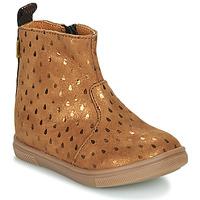 Chaussures Fille Boots GBB ERNA Marron