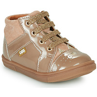Chaussures Fille Baskets montantes GBB THEANA Beige