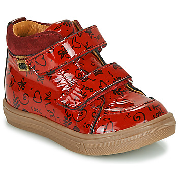 Chaussures Fille Baskets montantes GBB DOMENA Rouge