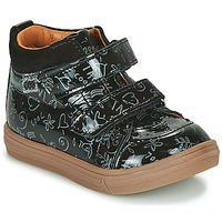 Chaussures Fille Baskets montantes GBB DOMENA Noir