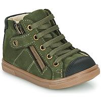 Chaussures Garçon Baskets montantes GBB KAMIL Vert