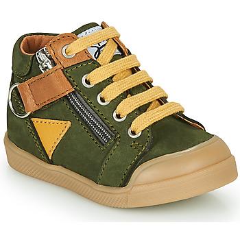 Chaussures Garçon Baskets montantes GBB TIMOTHE Vert