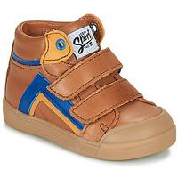 Chaussures Garçon Baskets montantes GBB ERNEST Marron
