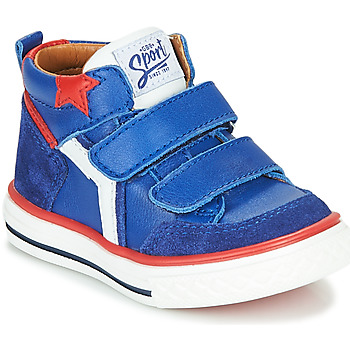 Chaussures Garçon Baskets montantes GBB FLAVIO Bleu